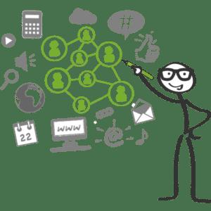 redes sociais no marketing digital, um perigo invisível